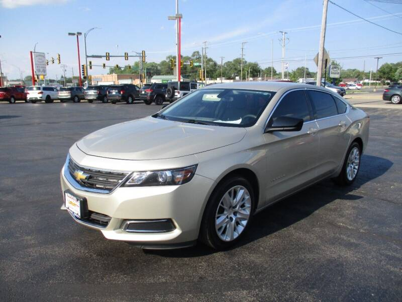 2014 Chevrolet Impala for sale at Windsor Auto Sales in Loves Park IL