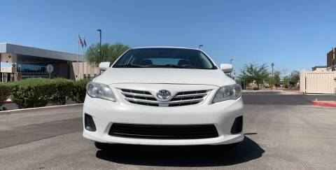 2013 Toyota Corolla for sale at CASH OR PAYMENTS AUTO SALES in Las Vegas NV