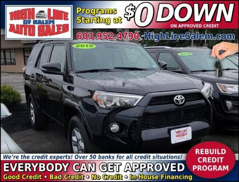 2019 Toyota 4Runner for sale at High Line Auto Sales of Salem in Salem NH