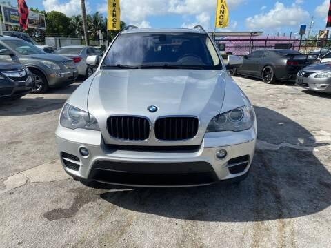 2013 BMW X5 for sale at America Auto Wholesale Inc in Miami FL