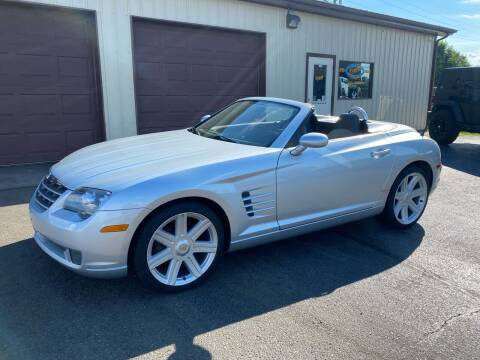 2008 Chrysler Crossfire for sale at Ryans Auto Sales in Muncie IN