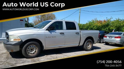 2011 RAM Ram Pickup 1500 for sale at Auto World US Corp in Plantation FL