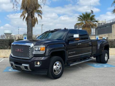 2015 GMC Sierra 3500HD for sale at Motorcars Group Management - Bud Johnson Motor Co in San Antonio TX