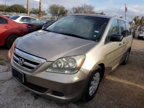 2005 Honda Odyssey for sale at Ace Automotive in Houston TX