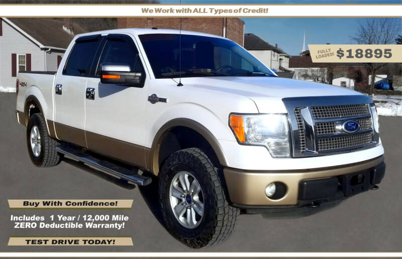 2011 Ford F-150 for sale at Steel River Auto in Bridgeport OH