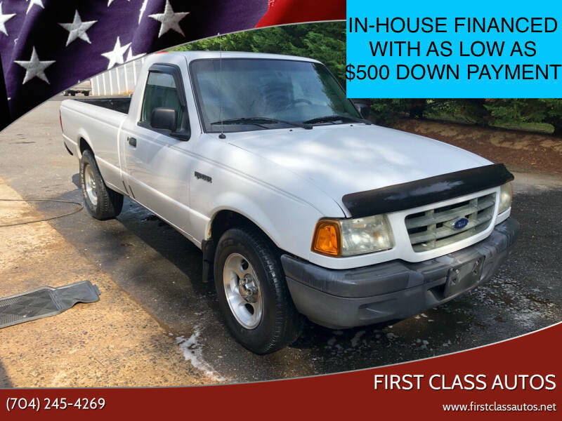 2003 Ford Ranger for sale at First Class Autos in Maiden NC
