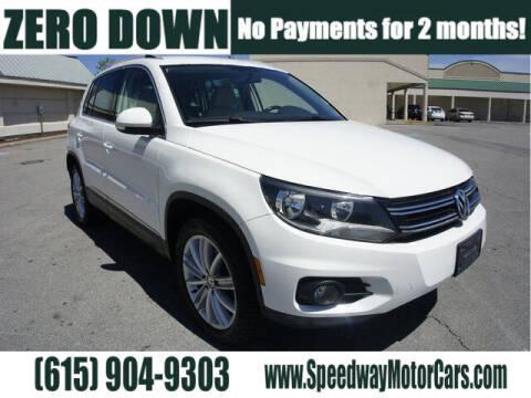 2014 Volkswagen Tiguan for sale at Speedway Motors in Murfreesboro TN