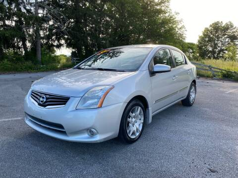2012 Nissan Sentra for sale at Robinson Motorcars in Hedgesville WV