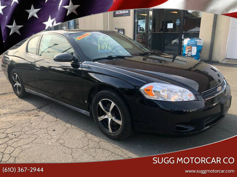 2007 Chevrolet Monte Carlo for sale at Sugg Motorcar Co in Boyertown PA