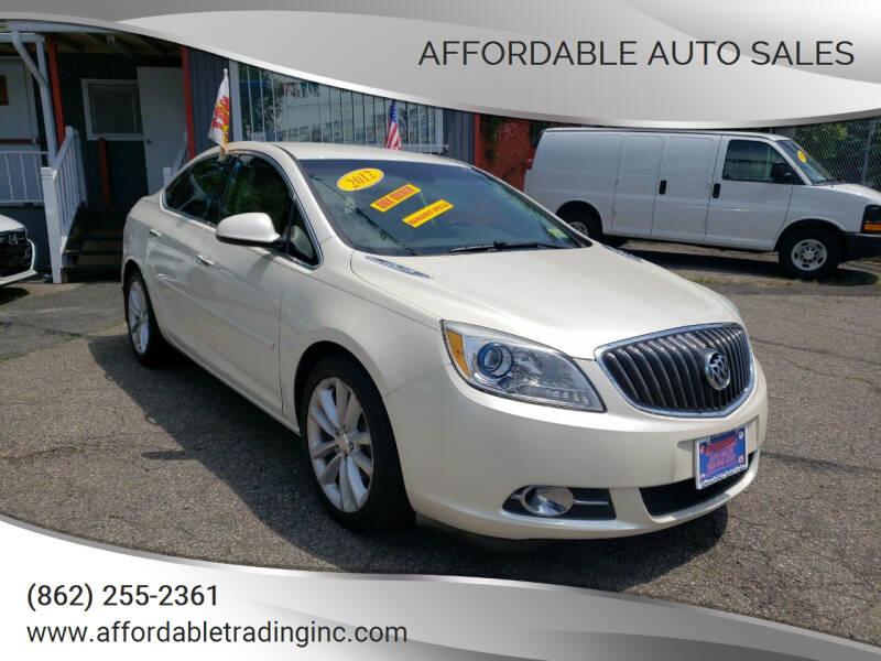 2012 Buick Verano for sale at Affordable Auto Sales in Irvington NJ