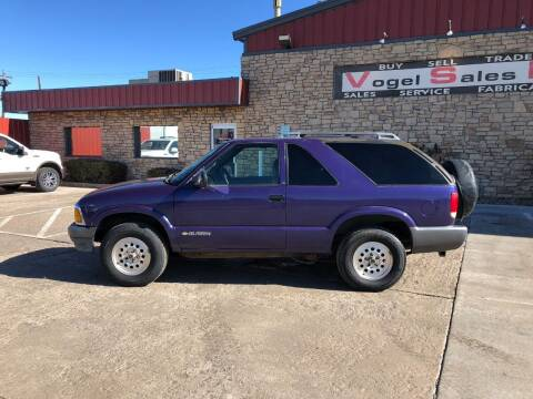 1995 Chevrolet Blazer for sale at Vogel Sales Inc in Commerce City CO