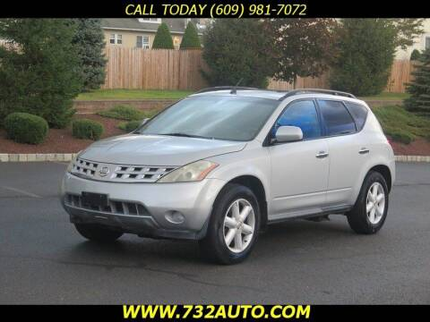 2003 Nissan Murano for sale at Absolute Auto Solutions in Hamilton NJ