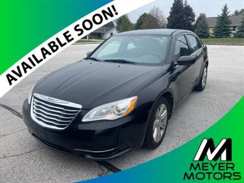 2013 Chrysler 200 for sale at Meyer Motors in Plymouth WI