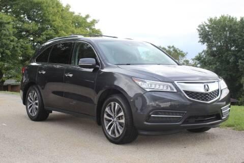 2016 Acura MDX for sale at Harrison Auto Sales in Irwin PA