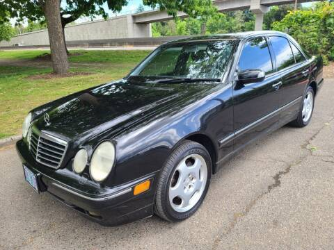 2001 Mercedes-Benz E-Class for sale at EXECUTIVE AUTOSPORT in Portland OR