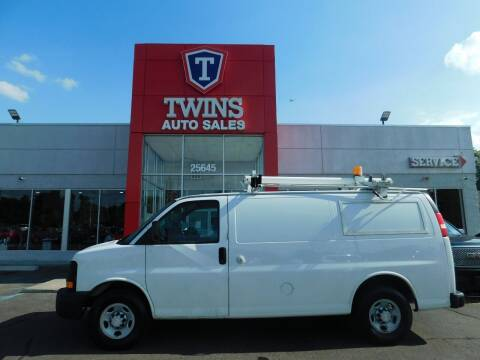 2009 Chevrolet Express Cargo for sale at Twins Auto Sales Inc Redford 1 in Redford MI