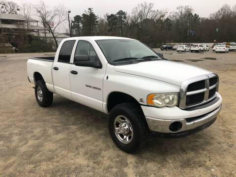 2003 Dodge Ram Pickup 2500 for sale at Hwy 80 Auto Sales in Savannah GA