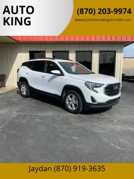 2019 GMC Terrain for sale at AUTO KING in Jonesboro AR