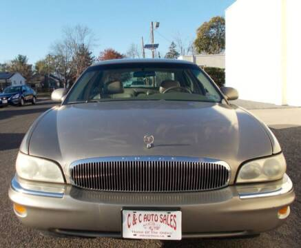 2001 Buick Park Avenue for sale at C & C AUTO SALES in Riverside NJ