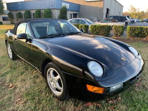 1993 Porsche 968 for sale at Essen Motor Company, Inc in Lebanon TN