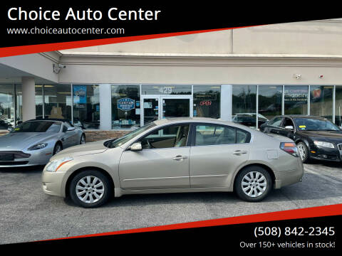 2010 Nissan Altima for sale at Choice Auto Center in Shrewsbury MA