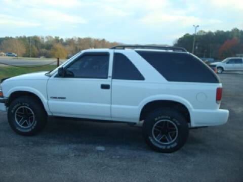 2001 Chevrolet Blazer for sale at Mike Lipscomb Auto Sales in Anniston AL