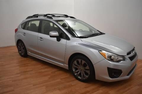 2012 Subaru Impreza for sale at Paris Motors Inc in Grand Rapids MI