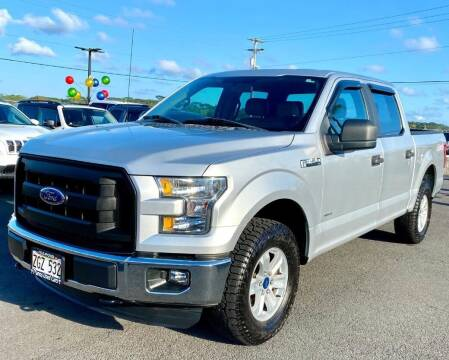 2015 Ford F-150 for sale at PONO'S USED CARS in Hilo HI
