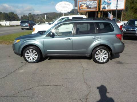 2011 Subaru Forester for sale at EAST MAIN AUTO SALES in Sylva NC