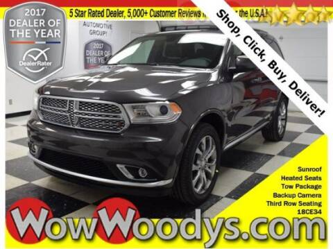 2018 Dodge Durango for sale at WOODY'S AUTOMOTIVE GROUP in Chillicothe MO
