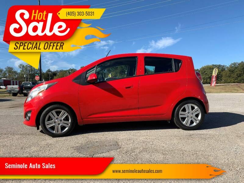 2014 Chevrolet Spark for sale at Seminole Auto Sales in Seminole OK
