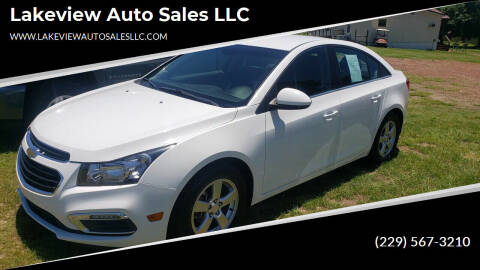2015 Chevrolet Cruze for sale at Lakeview Auto Sales LLC in Sycamore GA