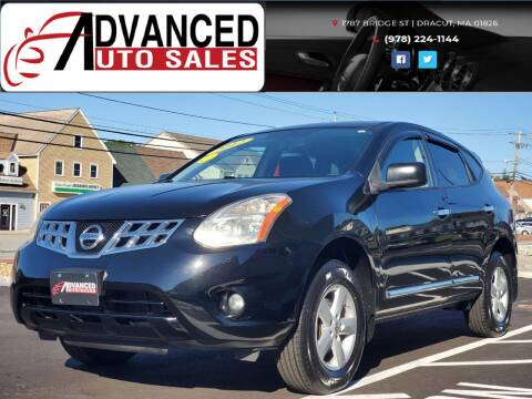 2012 Nissan Rogue for sale at Advanced Auto Sales in Dracut MA