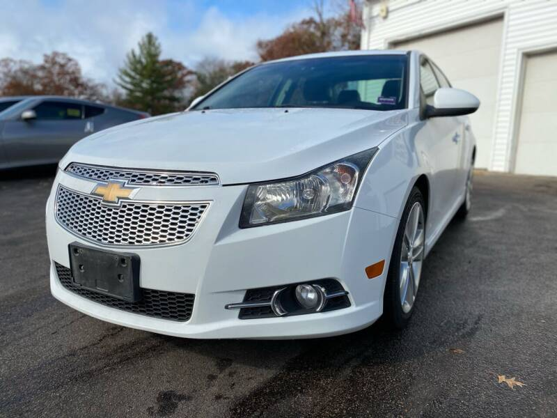 2012 Chevrolet Cruze for sale at SOUTH SHORE AUTO GALLERY, INC. in Abington MA