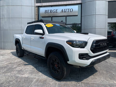 2017 Toyota Tacoma for sale at Berge Auto in Orem UT