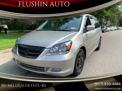 2007 Honda Odyssey for sale at FLUSHIN AUTO in Flushing NY