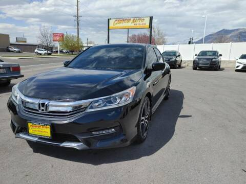 2017 Honda Accord for sale at Canyon Auto Sales in Orem UT