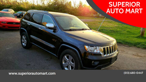 2012 Jeep Grand Cherokee for sale at SUPERIOR AUTO MART in Amelia OH