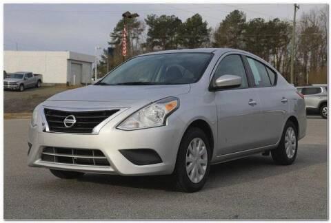 2017 Nissan Versa for sale at WHITE MOTORS INC in Roanoke Rapids NC