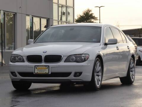 2008 BMW 7 Series for sale at Loudoun Used Cars - LOUDOUN MOTOR CARS in Chantilly VA