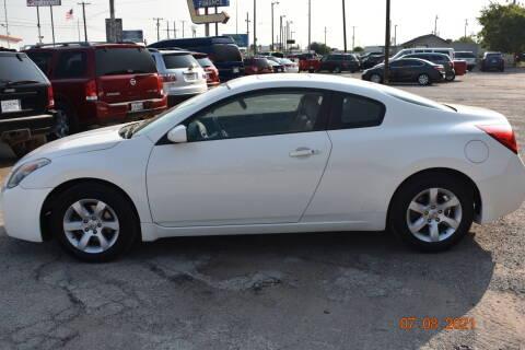 2008 Nissan Altima for sale at WF AUTOMALL in Wichita Falls TX