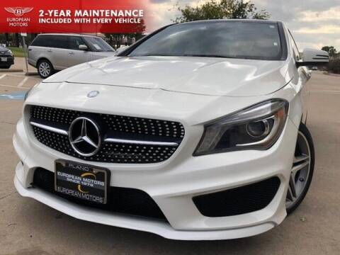 2014 Mercedes-Benz CLA for sale at European Motors Inc in Plano TX