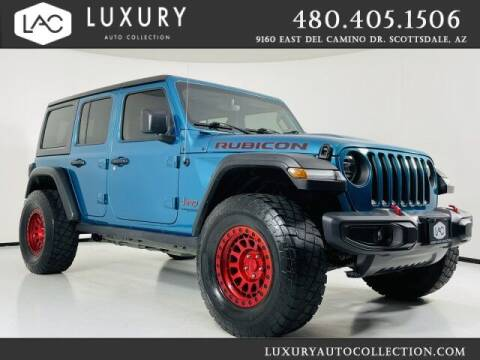 2020 Jeep Wrangler Unlimited for sale at Luxury Auto Collection in Scottsdale AZ