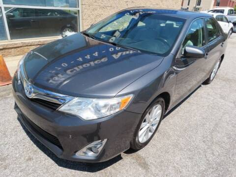 2012 Toyota Camry Hybrid for sale at Southern Auto Solutions - 1st Choice Autos in Marietta GA