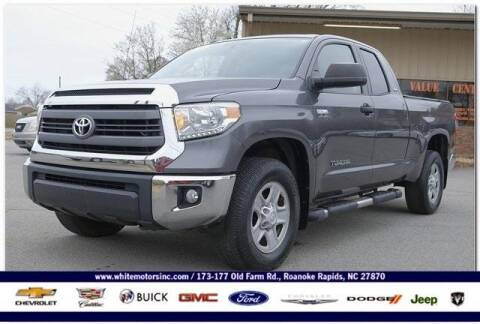 2014 Toyota Tundra for sale at WHITE MOTORS INC in Roanoke Rapids NC
