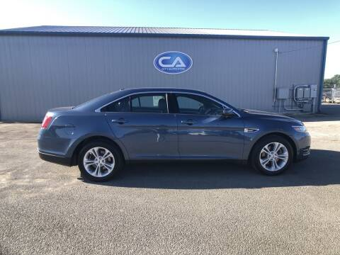 2018 Ford Taurus for sale at Team Hall at City Auto in Murfreesboro TN