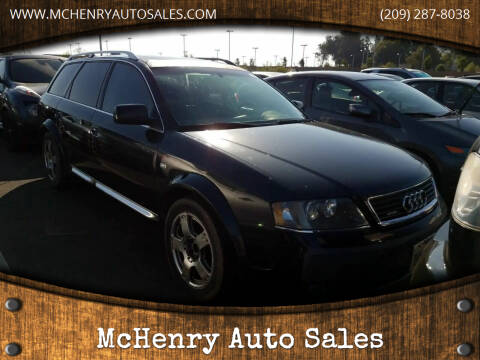 2005 Audi Allroad for sale at McHenry Auto Sales in Modesto CA