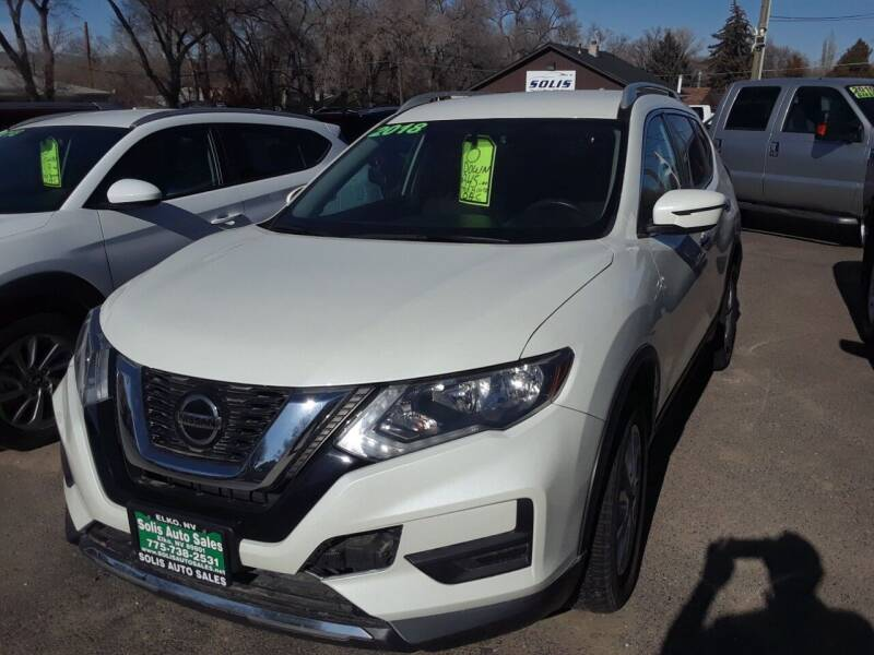 2018 Nissan Rogue for sale at SOLIS AUTO SALES INC in Elko NV