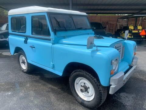 1975 Land Rover Defender for sale at TROPHY MOTORS in New Braunfels TX
