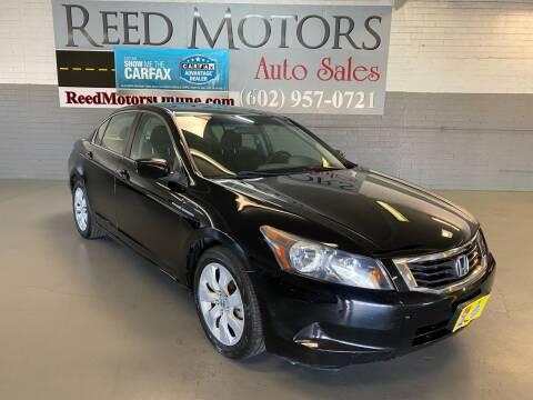 2010 Honda Accord for sale at REED MOTORS LLC in Phoenix AZ